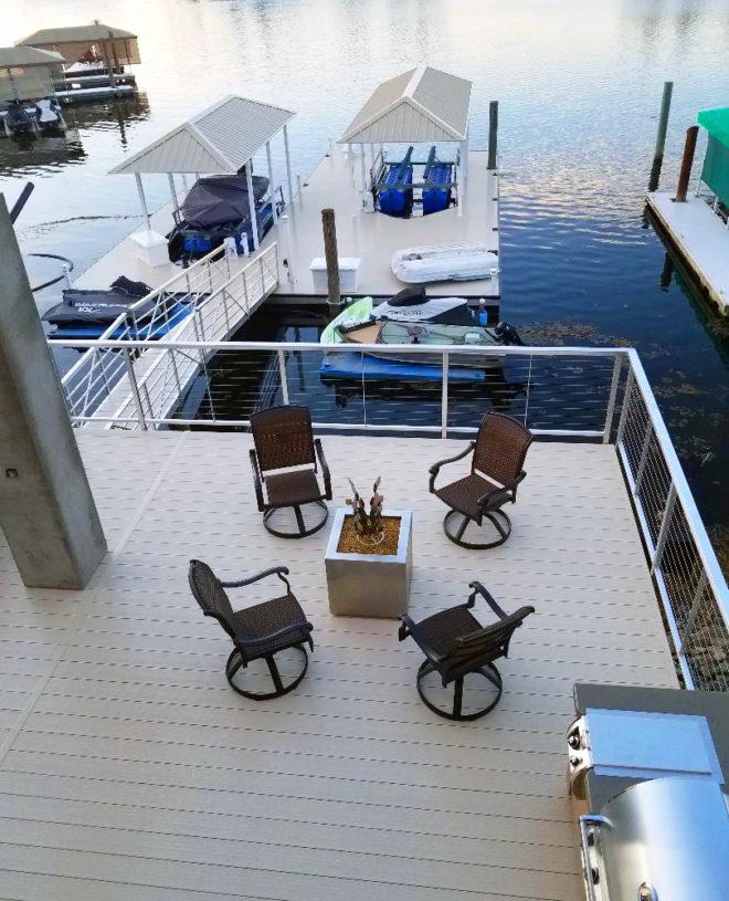 Winn Decking U2014 Premier Vinyl Decking Boat Dock